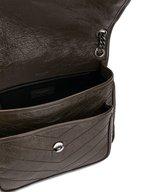 Saint Laurent - Monogram Brown Quilted Leather Medium Bag