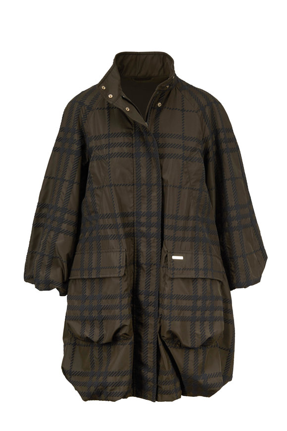 Woolrich Tropical Green Plaid Lightweight Jacket