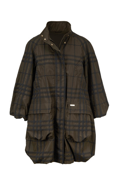 Woolrich - Tropical Green Plaid Lightweight Jacket