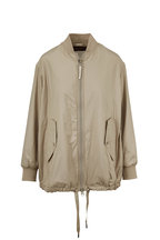 Woolrich - Fairview Light Clay Insulated Bomber Jacket