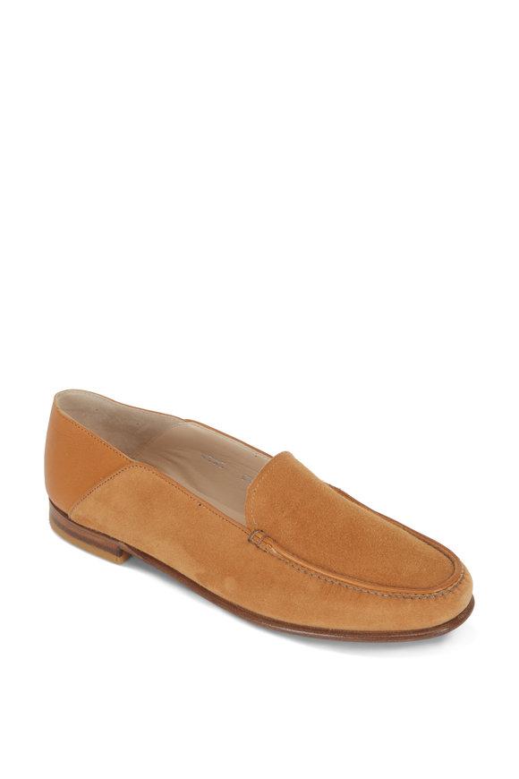Gravati Camel Suede & Leather Loafer