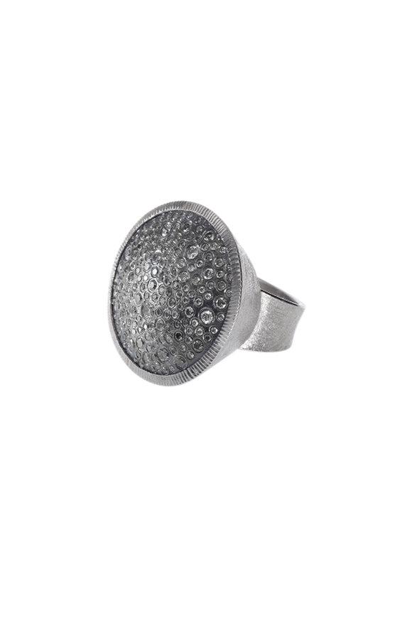 Todd Reed Palladium Diamond Cocktail Ring