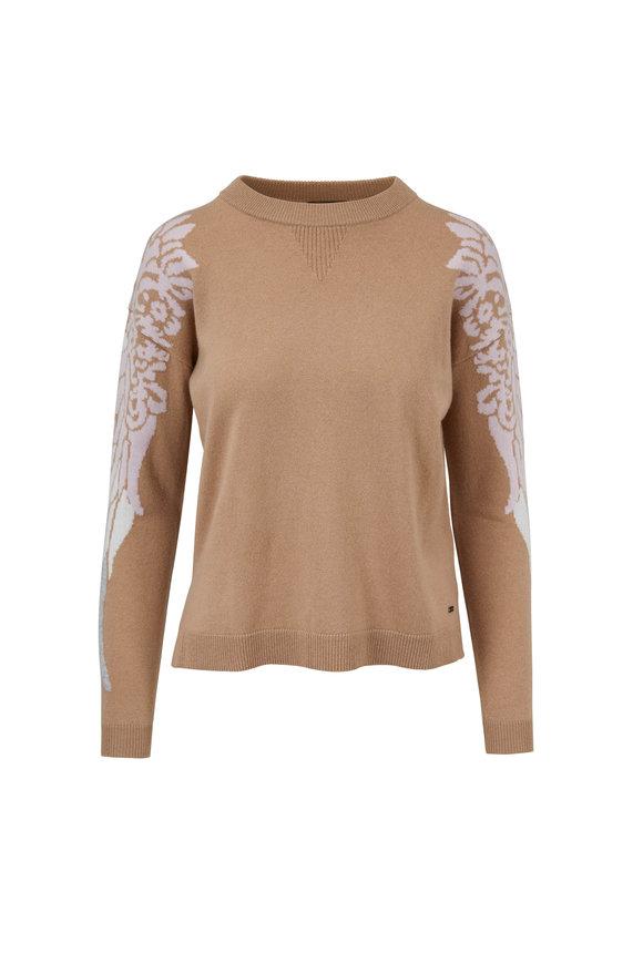 Bogner Romana Camel Wing Sleeve Sweater