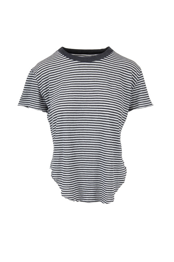 Frank & Eileen Vintage Carbon Striped T-Shirt