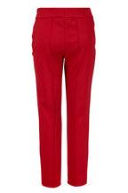 Escada - Tuska Red Ruby Slim Fit Pant