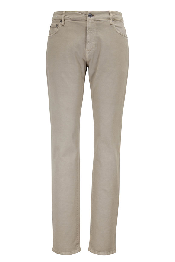 PT Torino  Jazz Khaki Stretch Twill Five Pocket Pant