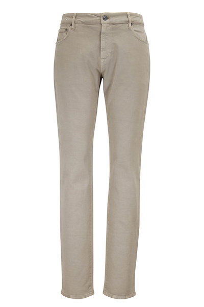 PT Pantaloni Torino - Jazz Khaki Stretch Twill Five Pocket Pant