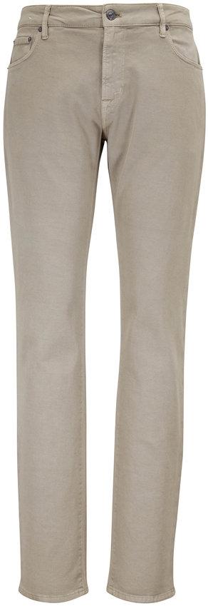PT Pantaloni Torino  Jazz Khaki Stretch Twill Five Pocket Pant