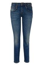 R13 - Boy Medium Wash Straight Jean