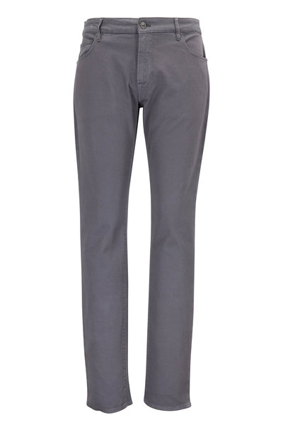 PT Torino - Jazz Taupe Stretch Cotton Five Pocket Pant