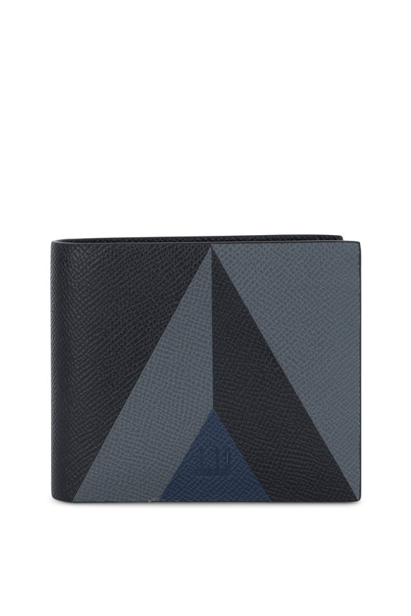 Dunhill Cadogan Marquetry Leather Billfold Wallet