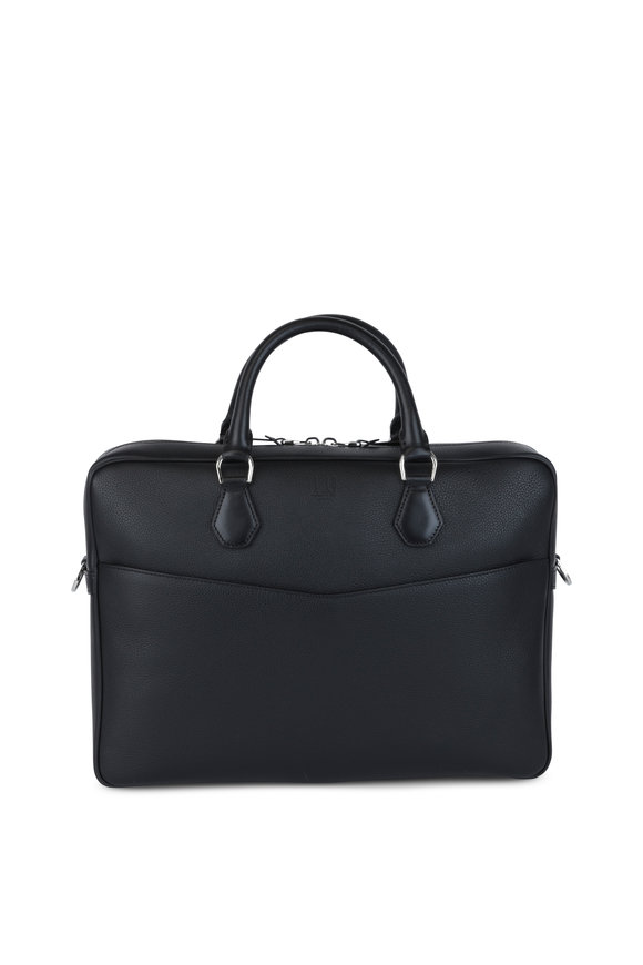 Dunhill Boston Black Leather Case