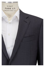 Ermenegildo Zegna - Charcoal Gray Wool & Silk Suit