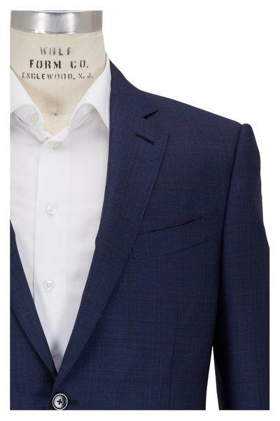 Ermenegildo Zegna - Tonal Blue Wool Suit