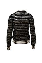 Fendi - Black & Nude Button Front Cardigan