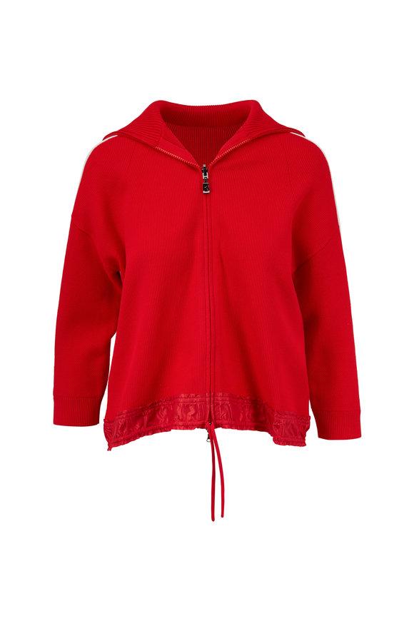 Bogner Lorena Red Knit Jacket