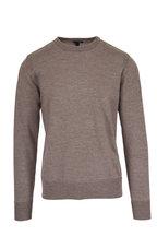 Belstaff - Kerrigan Bronze Oak Wool Crewneck Pullover