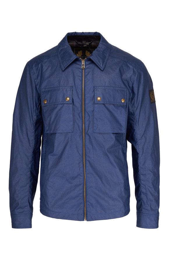 Belstaff Dunstall Lagoon Blue Shirt Jacket