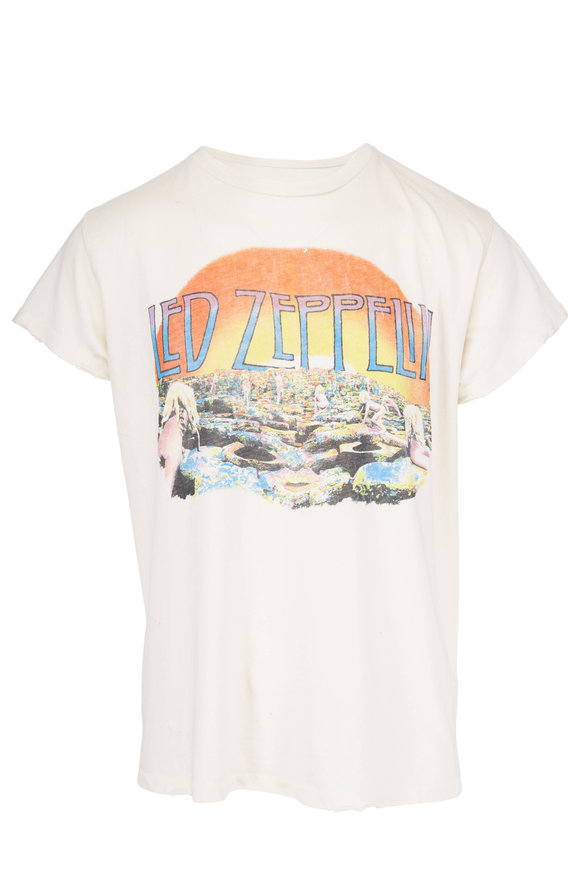 Madeworn Led Zepplin White T-Shirt