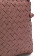 Bottega Veneta - Pillow Dark Rose Intrecciato Small Crossbody
