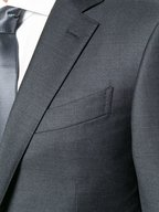 Ermenegildo Zegna - Solid Gray Worsted Wool Suit