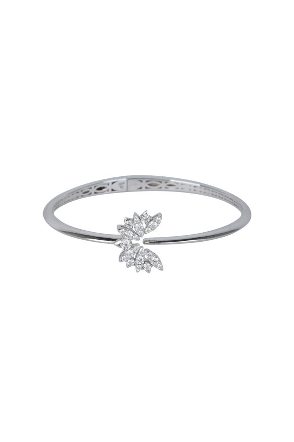 Stephen Webster 18K White Gold Kite Bird Bangle