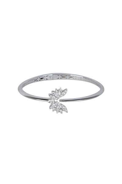 Stephen Webster - 18K White Gold Kite Bird Bangle