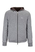 Ermenegildo Zegna - Breeze Breaker Brown & Gray Reversible Jacket