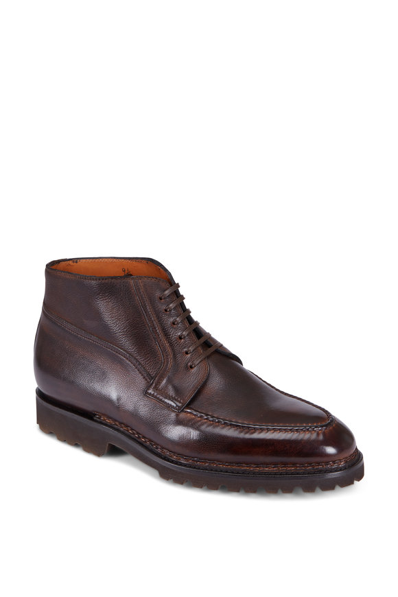Bontoni Campagna Chocolate Leather Boot