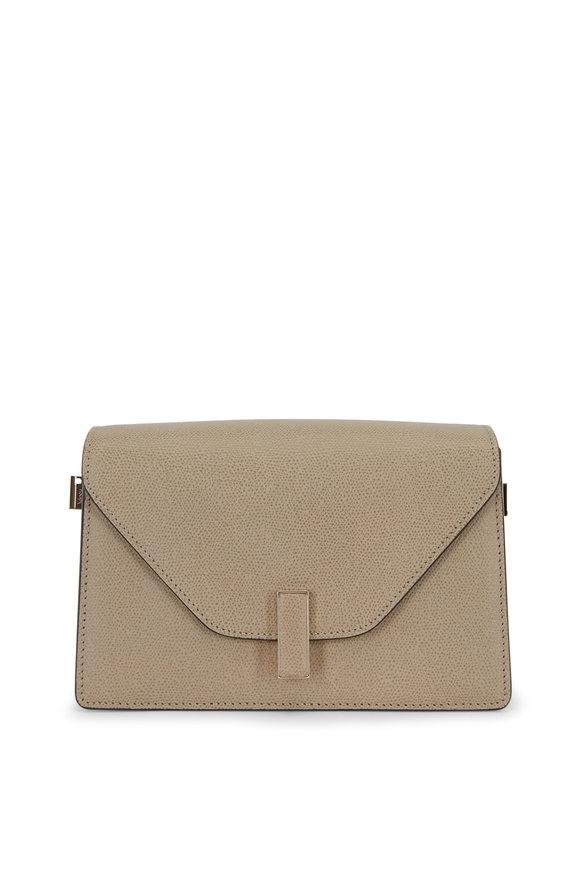 Valextra Iside Oyster Saffiano Shoulder Bag