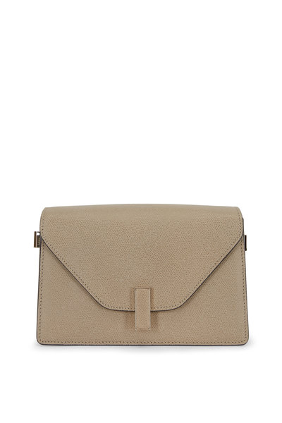 Valextra - Iside Oyster Saffiano Shoulder Bag