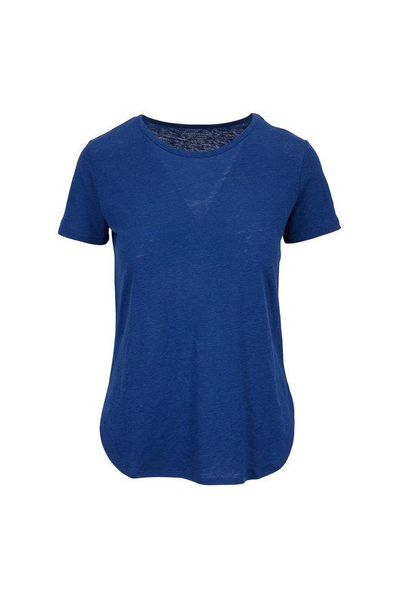 Majestic Blue Crewneck Deluxe T-Shirt