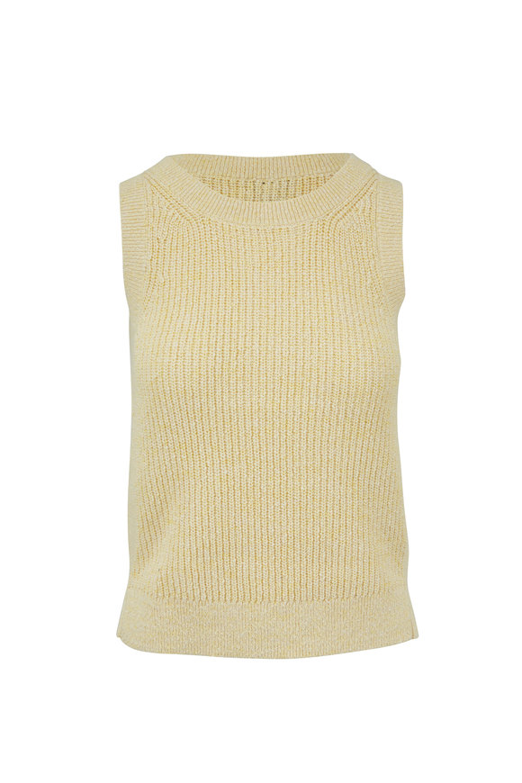 Kinross Sunray Cotton Ribbed Tank Top