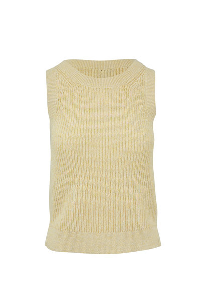Kinross - Sunray Cotton Ribbed Tank Top