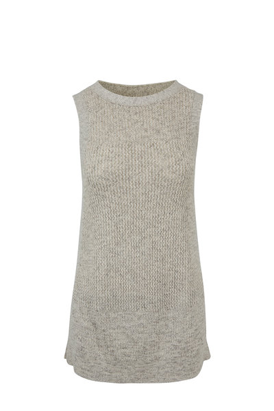 Kinross - Sand Drift Cotton Sleeveless Tunic