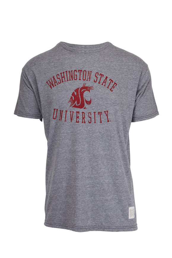Retro Brand Washington State University Grey T-Shirt