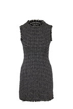 Alexander McQueen - Black & Ivory Bouclé Tweed Mini Dress