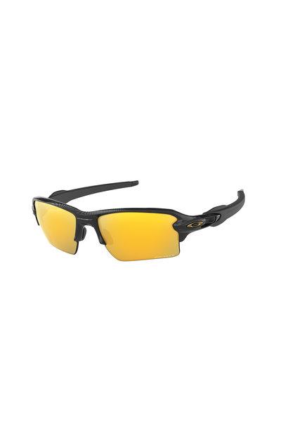 Oakley Sunglasses - Flak® 2.0 XL Polished Black Sunglasses