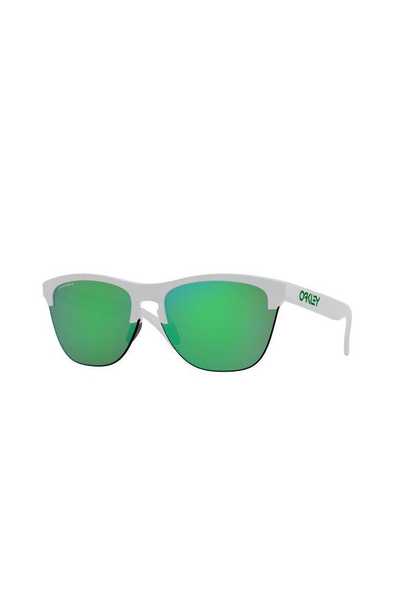 Oakley Sunglasses Frogskins™ Lite Matte White Sunglasses