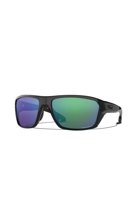 Oakley Sunglasses Split Shot Polished Black Sunglasses
