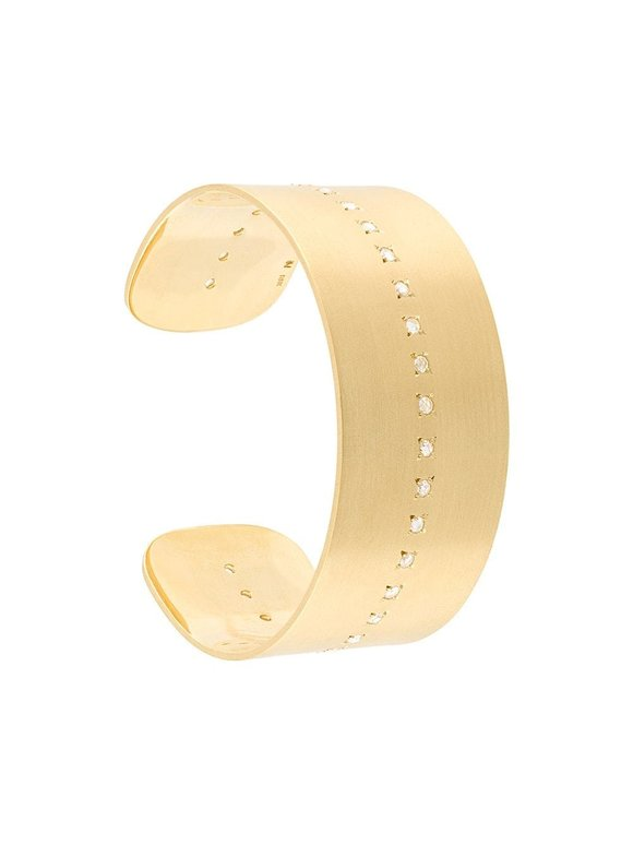 Irene Neuwirth 18K Yellow Gold Diamond Cuff