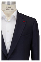 Isaia - Navy Cashmere & Silk Sportcoat