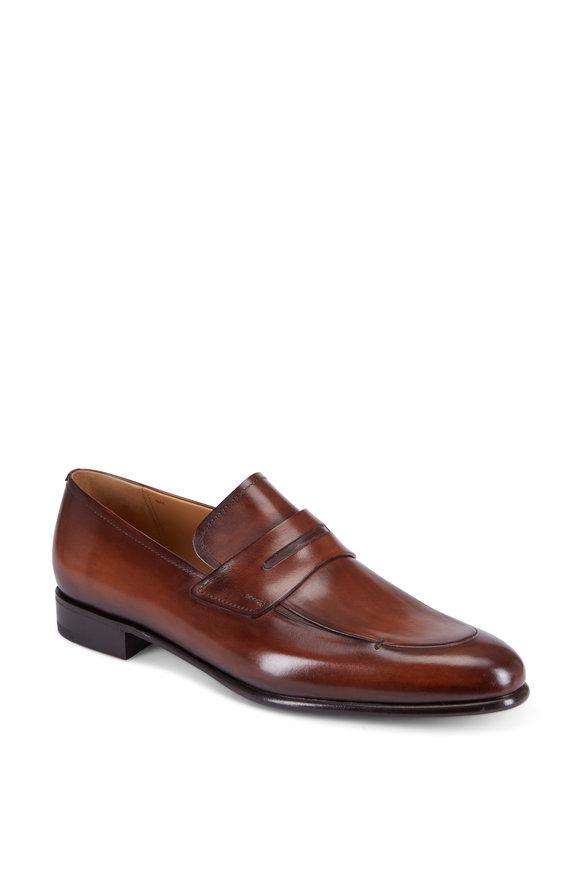 Berluti Venezia Tobacco Leather Loafer