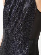 Galvan - Midnight Blue Halter Dress