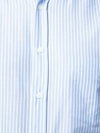Brunello Cucinelli - Blue Striped Basic Fit Sport Shirt
