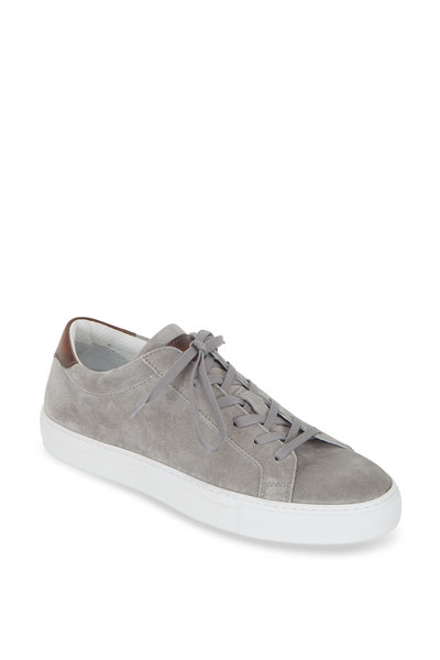 To Boot New York - Pacer Light Gray Suede Sneaker