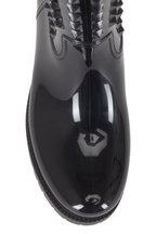 Valentino Garavani - Rockstud Black Rain Boots, 40mm