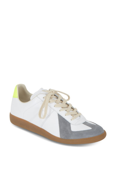 Maison Margiela - Replica White With Gray & Yellow Sneaker