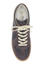 Maison Margiela - Replica Black Leather & Suede Lace-Up Sneaker