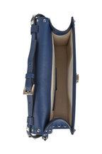 Valentino Garavani - Rockstud Blue, Ivory & Red Leather Shoulder Bag